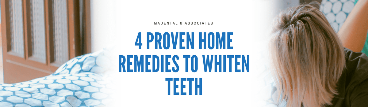 4 tips to home teeth whitening